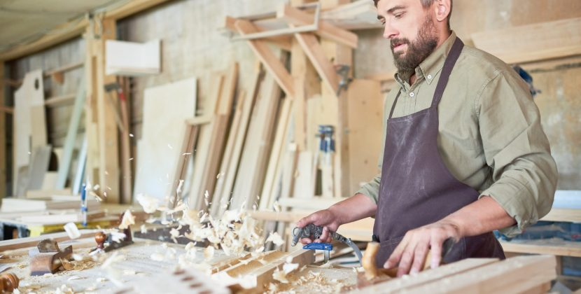 Craftsman in Joinery Shop