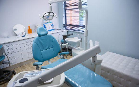 Interior of dental clinic