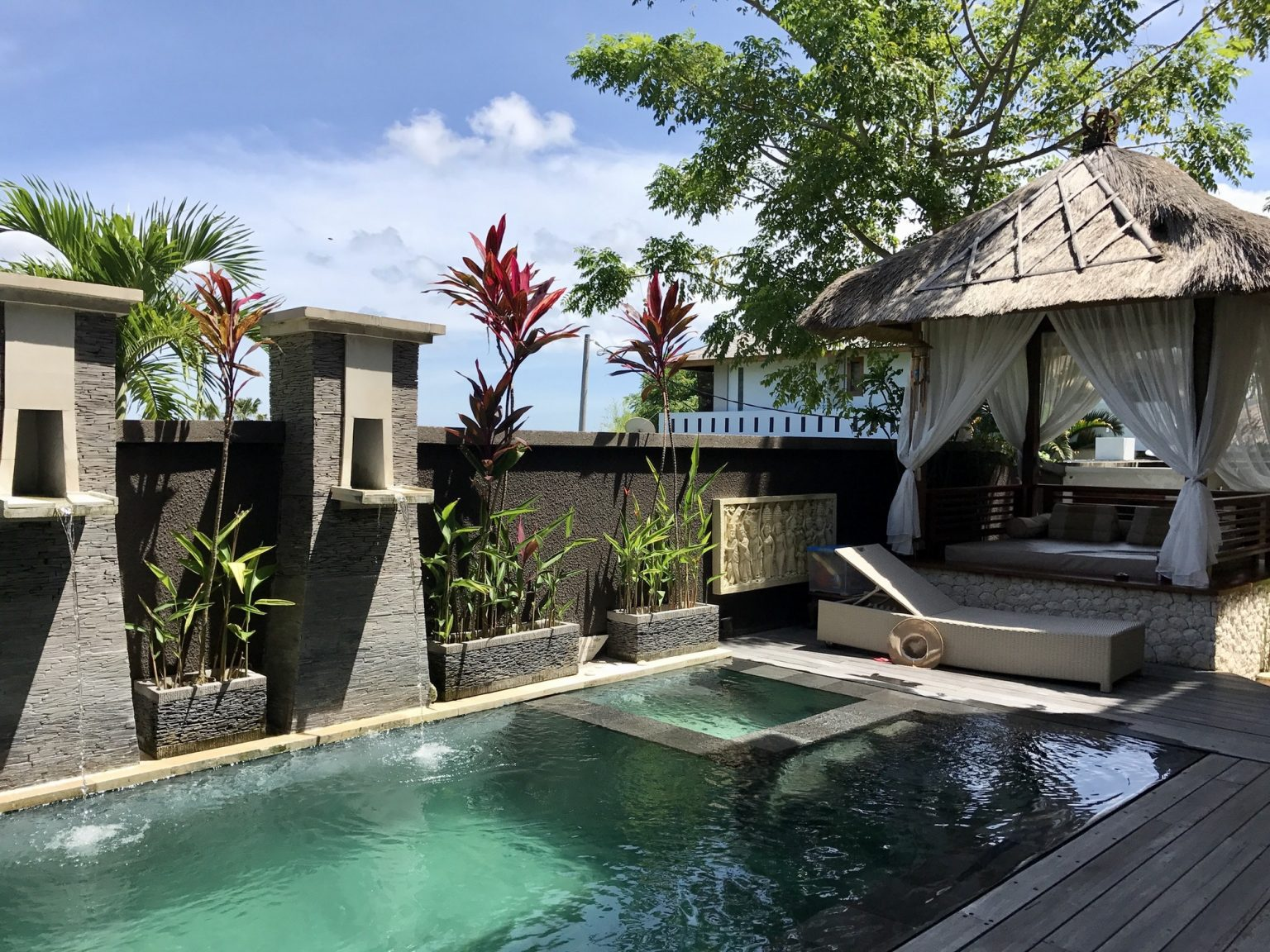 Luxury private pool villa. Indonesia, Bali island.