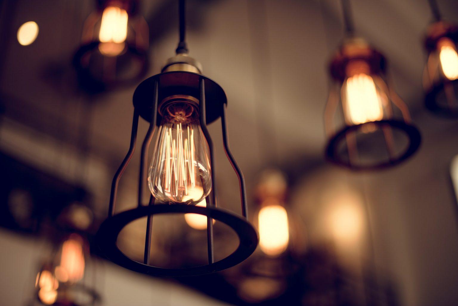 Vintage ceiling lamps