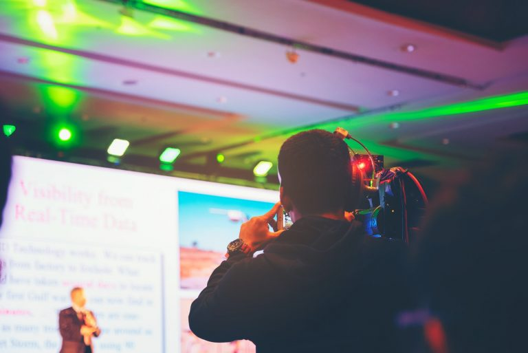 Seminar training workshop event video camera field working recorder commercial production
